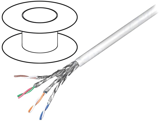 Pack of 2 Ethernet Cables//Networking Cables IP67 MODJCK BOX SIDE W//PLUG 152MM CABLE, GM67X-CBL-152-P