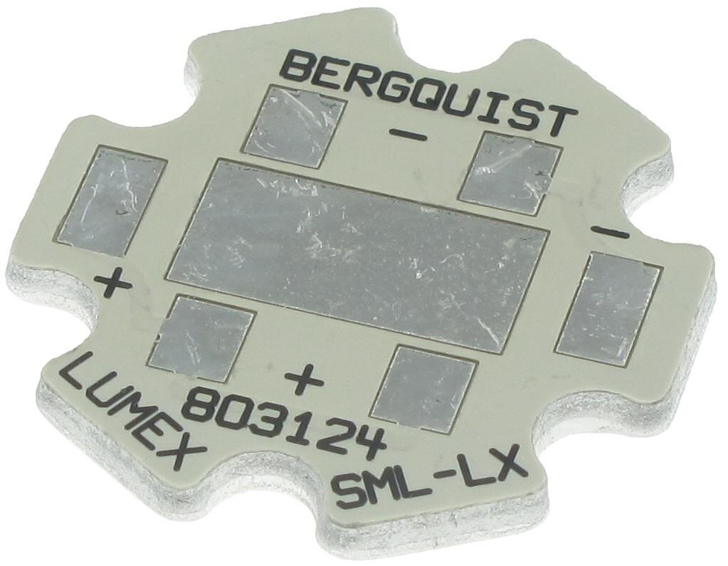 Thermal Substrates MCPCB 1-UP INDV STAR LUXEON REBEL 1 piece